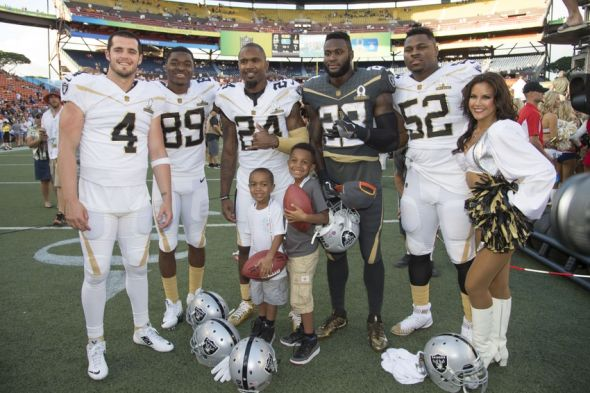 Oakland Raiders Past And Future On Display At Pro Bowl