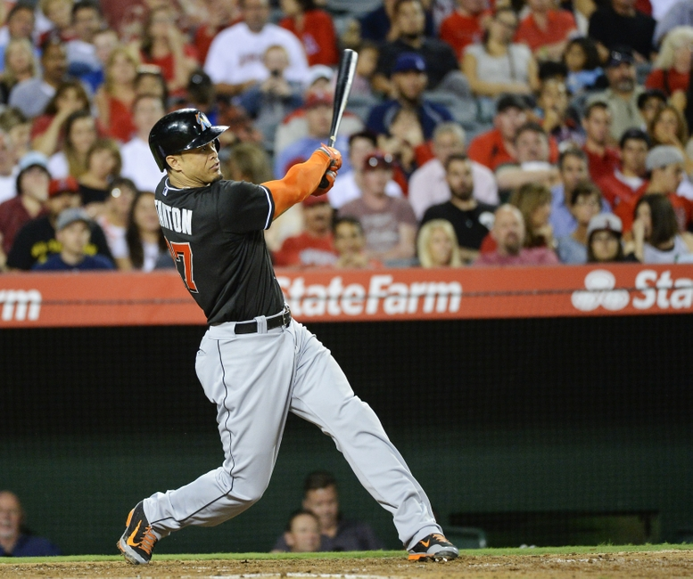 Giancarlo Stanton Of Miami Marlins Says He S Recovering: Buster Posey Can Still Win The National League MVP