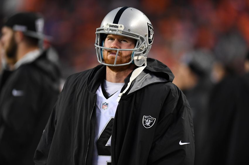 best service 6859c c32c0 Connor Cook's Biggest Flaw May Be Just What The Raiders Need
