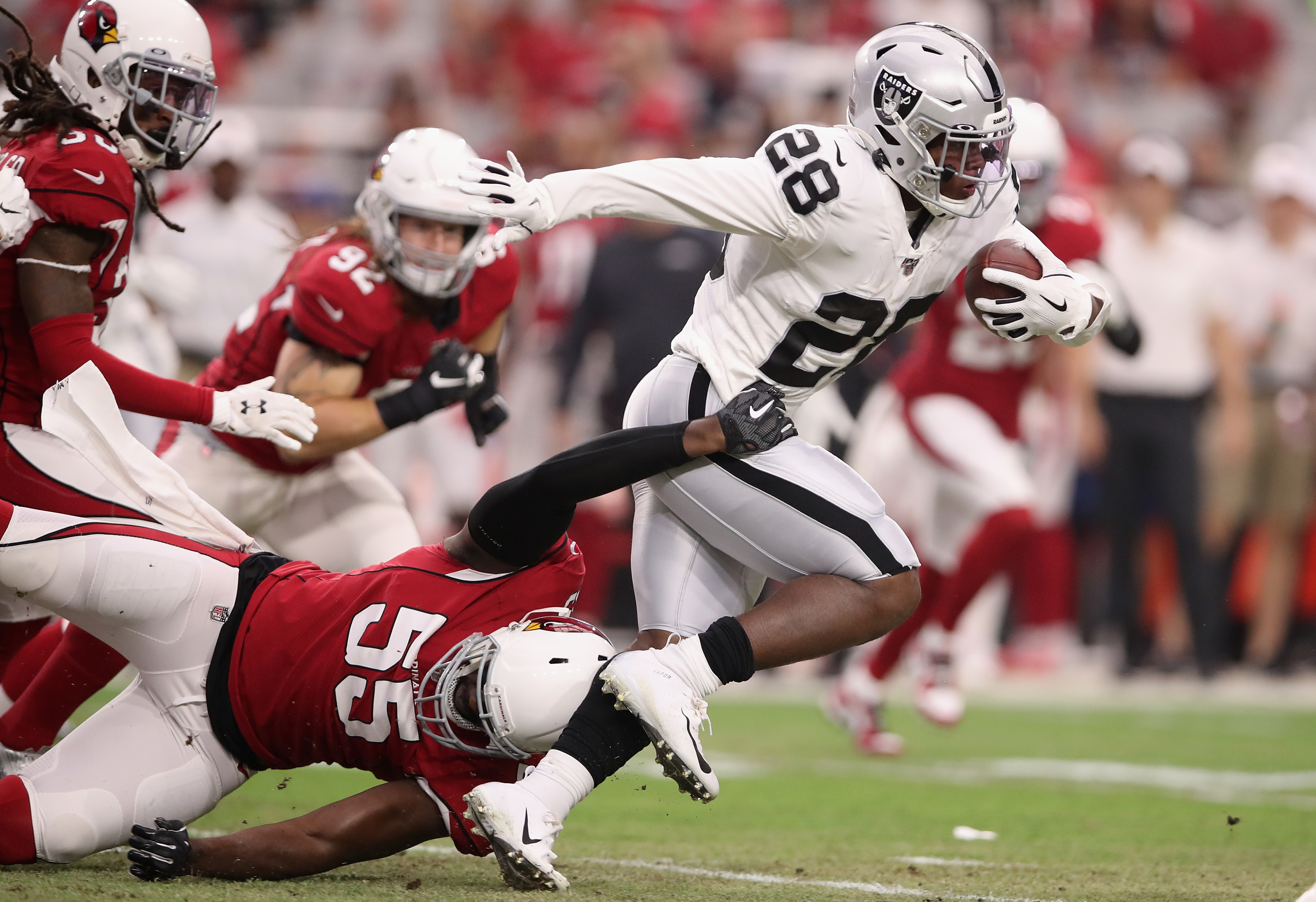 Oakland Raiders Josh Jacobs Is Set To Handle A Hefty Workload