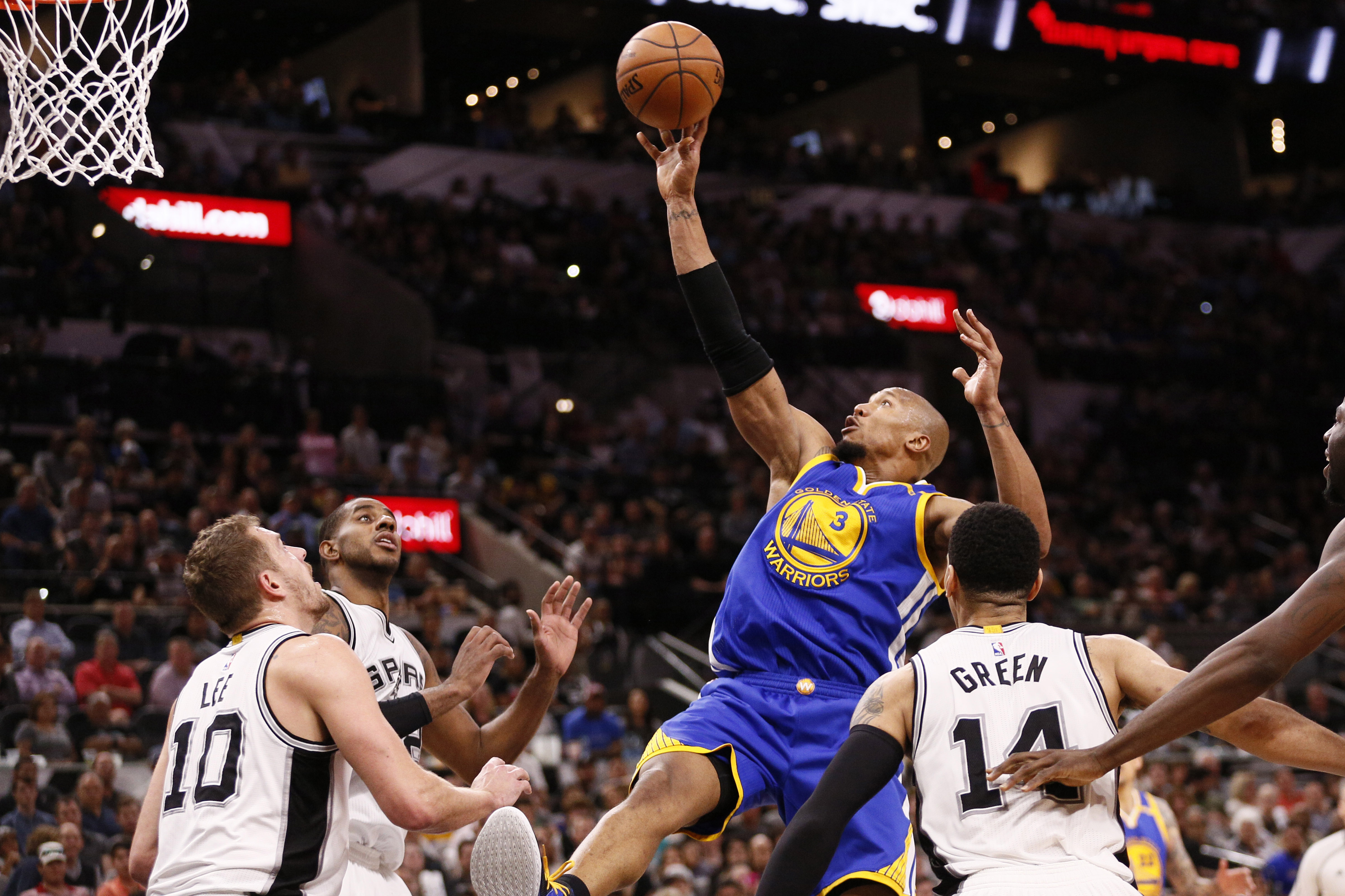 newest 85a45 b5232 David West Is Exactly What The Golden State Warriors Needed